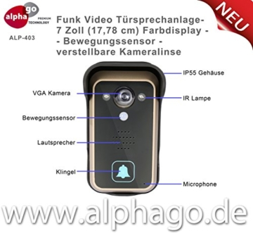 Video Türsprechanlage
