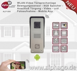 WLAN Video Türsprechanlage ALP500